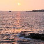 Sunset at the Royal Kona resort along Alii Drive