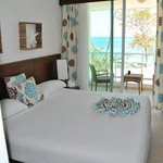 Another view of our room with the Atlantic in the background