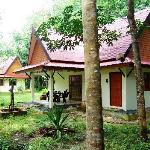 two rooms in one bungalow