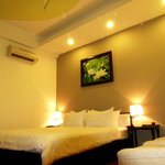 Deluxe room with different style at Nam Mon Hotel