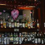 Beautiful, festive bar!