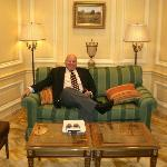 Hotel lobby/Round Robin Bar - President Grant visited the Willard Hotel and enjoyed his brandy/c