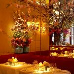 A place of delicious French haute cuisine in a gorgeous jewel- like dining room.