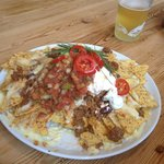 beer and nachos £6 bargain