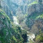 The Canyon of Aggitis River