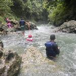 Body Rafting track
