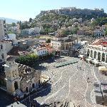 Vue sur la place Monastiraki