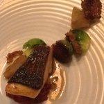 Pan seared Hiramasa kingfish