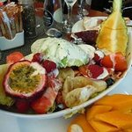 Chef's Special (fruit, chicken & salad)