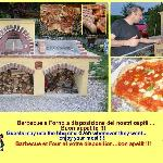 Barbeque + Pizza oven