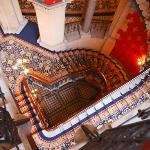 ヨーロッパ一壮大な階段と呼ばれているとか