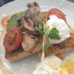 Vegetarian Breakfast at Bill's