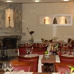 notre nouvelle salle de restaurant
