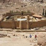 Il monastero del Sinai e la fortificazione