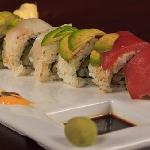 Sushi Rainbow Roll
