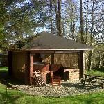 Private Hot Tub at Lodge 13