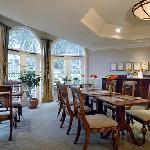 Breakfast room at Harbour House