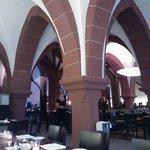 Blick im Inneren des Restaurant