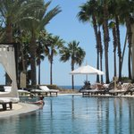 Pool, timeshare side, Hilton Los Cabos