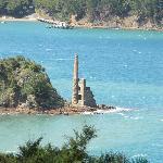 Coppermine ruins, Kawau Island