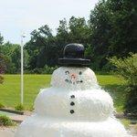 Melting Snowman!