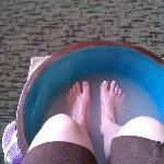 rose foot soak