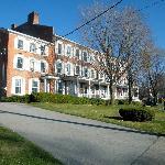 Main inn grounds