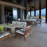 Poerava restaurant terrace