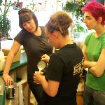 Barista brush up with Heather Perry