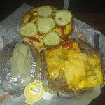 Burger/Potato