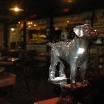 The Black Dog Tavern statue