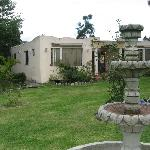 THE GUEST HOUSE AND GARDEN FOUNTAIN