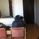 Room door & mirror