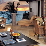 Each suite is tastefully decorated with designer furnishings