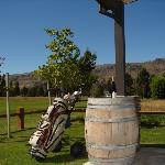 Golf Course within 200m from your room.