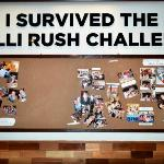 the hall of fame, I survived the Chili Rush Challenge! Brave hearts!