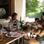 Asado mit Familie