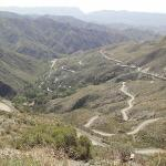 Fahrt mit Hans vorbei an Villavicencia
