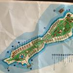 Karte der Insel