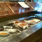 salad bar changed for extra breakfast options