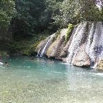 Swimming at Reach Falls