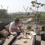 roof terrace Q-bar, Connaught place.
