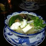 Large vegetable pho soup (dinner)