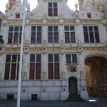 The Stadhuis at the Burg.