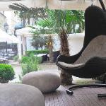 Lounge extérieure / private outdoors