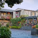 Exterior of our charming Carmel, CA bed and breakfast
