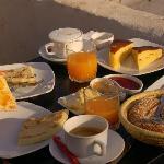 Un petit déjeuner au Safran