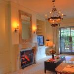 Luxury Spa Suite Sitting Room