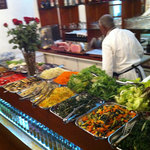 The antipasti bar