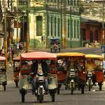 Street scene near Casa Morey
